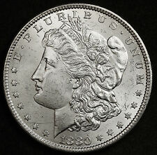 1880 Morgan Silver Dollar.  From Original roll VAM.  See Below.  B.U. 94443