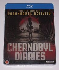 Chernobyl Diaries UK Exclusive Blu Ray Steelbook - New Sealed Limited