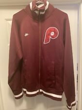 Philadelphia Phillies Nike Throwback Cooperstown Collection Jacket Men's Medium