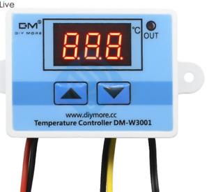 Termostato Digitale 220V  con sonda NTC esterna da -50° a +100°C W3001