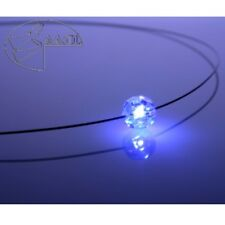 Necklace LED Crystal Ball White Crystal with Swarovski Elements Women's Necklace