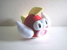 """Banpresto Nintendo Super Mario Bros Plush Red Flying Fish Japan 2005 10"""" 11"""""""