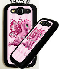 For Samsung Galaxy s7 s8 Pink Dragon Womens Breast Cancer Ribbon Phone Case
