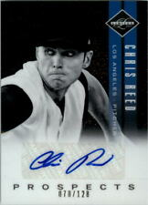 2011 Limited Prospects Signatures #40 Chris Reed Auto /128 - NM-MT