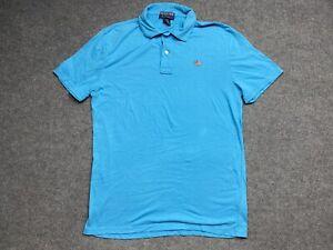 Ralph Lauren Polo Shirt Mens Medium Polo Jeans Regular Fit Button Collared C1