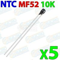 NTC MF52 10K Termistor B 3950 Resistencia temperatura sensor - Lote 5 unidades -
