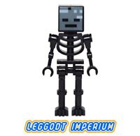 LEGO Minifigure - Wither Skeleton - Minecraft minifig min025 FREE POST
