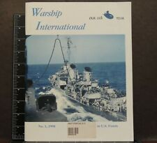 Warship International No.1 35th 1998 Navy Military Transport Submarine Hist.