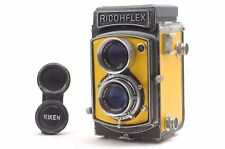 @ Ship in 24 Hours! @ Ricoh Ricohflex Dia Gold Leather Medium Format TLR Camera