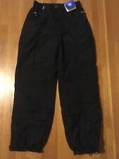 Bogner Ski Snowboard Snow Pants Women's 10 Long Black Water Resistant Layerguard