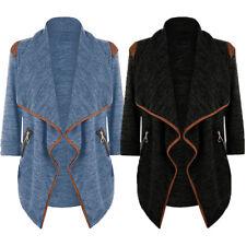 Mens Knitted Cardigan Jacket Slim Long Sleeve Sweater Coat Blazer New 2019