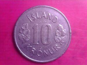 ICELAND  10  KRONUR   1975        MAY14