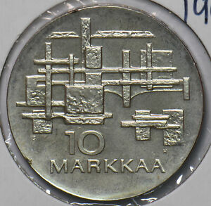 Finland 1967 10 Markkaa 50th Anniversary of Independence 294551 combine shipping