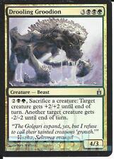 MTG Magic the Gathering TCG RAVNICA Drooling Groodion Beast Gold 204 / 306