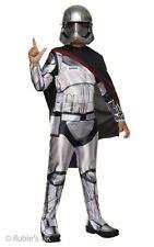 Kinder Kapitän Phasma Kostüm Star Wars Ep 7 First Order Weiblich Sturmtruppler