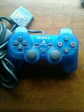 Sony Playstation 1 PS1 Blue Analog Controller OEM SCPH-1200