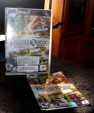 Puzzle Quest Challenge of the Warlords PS2 Game, Case & Book included E 2007