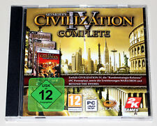 CIVILIZATION IV - COMPLETE - WARLORDS BEYOND THE SWORD - PC DVD JEWEL CASE 4
