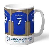 Personalised Cardiff City Football Club FC Dressing Room Mug Gift