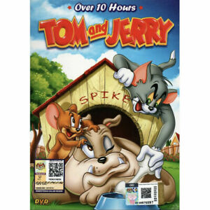 TOM AND JERRY Complete TV Series Vol.1-141.END Over 10 Hours + 1 Extra Movie DVD