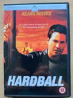 Hardball DVD 2001 Béisbol Drama Sports Película con Keanu Reeves