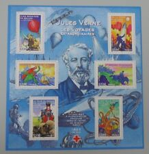 France 2005 bloc 85 neuf luxe ** BF 85 YT 3789/3794 cote 10 euros Jules verne