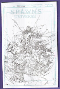 SPAWN UNIVERSE #1 COVER G 1:50 BOOTH VARIANT Actual Scans!