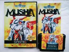 MUSHA English for Sega MegaDrive Video Game console system 16 bit MD card