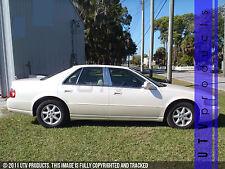 GTG 1998 - 2004 Cadillac Seville STS SLS 6PC Chrome Stainless Steel Pillars Post