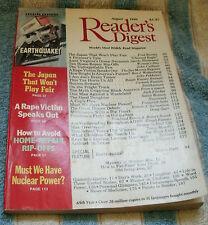 READER'S DIGEST 1990 AUGUST JAPAN;RAPE;TAX;COP;DIAPER;BALTICS;AIDS;WINNERS;KEYS