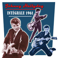 CD Johnny Hallyday : L'intégrale de 1961 - Coffret 2 CD