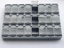 1 pcs SMD SMT Electronic Component Mini storage box 24 blocks T-156