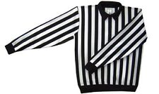 New Force hockey referee jersey w/snap adult Large L 50 officials size ref shirt