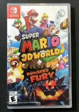 New & Sealed Super Mario 3D World + Bowser's Fury - (Nintendo Switch, 2021)