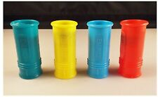 4 Count Siren Noise Maker Whistles Plastic Colorful