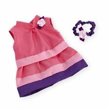 You & Me 12-14 inch Baby Doll Occasion Outfit - Tiered Dress