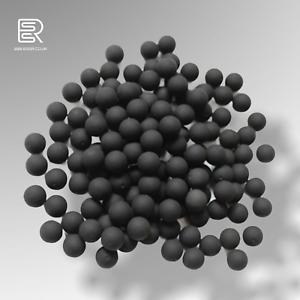 ESSR .50 Cal Reusable Rubber Training Balls Paintballs 100pcs Black