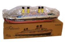 TITANIC TIN TOY STEAM POP POP BOAT REPLICA