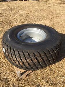 Titan 44x18.00-20 NHS Bias 4 Ply R3 Turf Tire with Welded Wheel 44-18-20