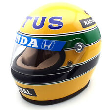 1987 helmet Ayrton Senna - scale 1/2 Minichamps
