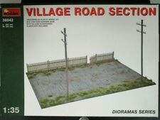 Miniart 1/35th Scale Village Road Section Kit No. 36042