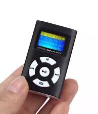 Mini MP3 Player LCD Screen Micro SD TF Card Reader Black UK Sellers