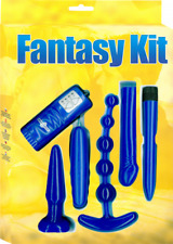All New Fantasy Kit (Blue) by 7 creations Adult Erotic Play Sex Toy. Express.