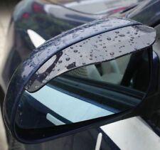 PAIR of Universal Tint Black Side Mirror Rain Snow Guard Sun Visors for Lexus