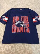 Vintage Garan New York Giants Large Shirt-Made In USA