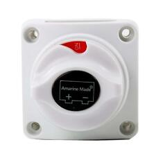 Boat Battery Power Disconnect Switch,Heavy Duty Battery Isolator Switch 12V DC