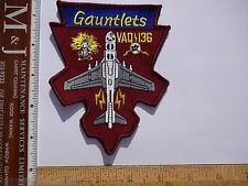 Military Patch US Navy VAQ-136 Gauntlets EA-6B Squadron