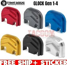 Tyrant Designs Slide End Plate Billet Aluminum Release for Glock Gen 1 2 3 4