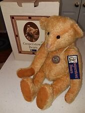 "COOPERSTOWN BEARS LIMITED EDITION TEDDIE ""HAMILTON"" #145 OF 488 MOHAIR"