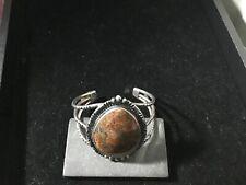 Cuff Bracelet American Indian Stone